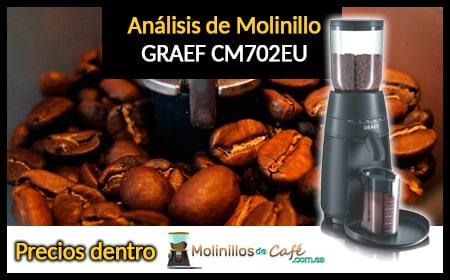 molinillo de café Graef CM702EU