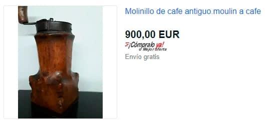 molinillo café antiguo ebay