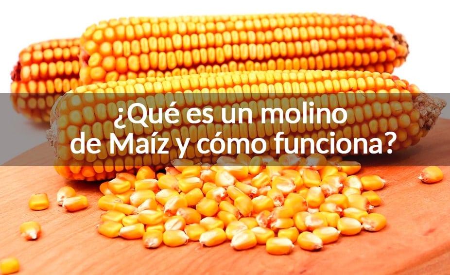 que es un molino de maíz